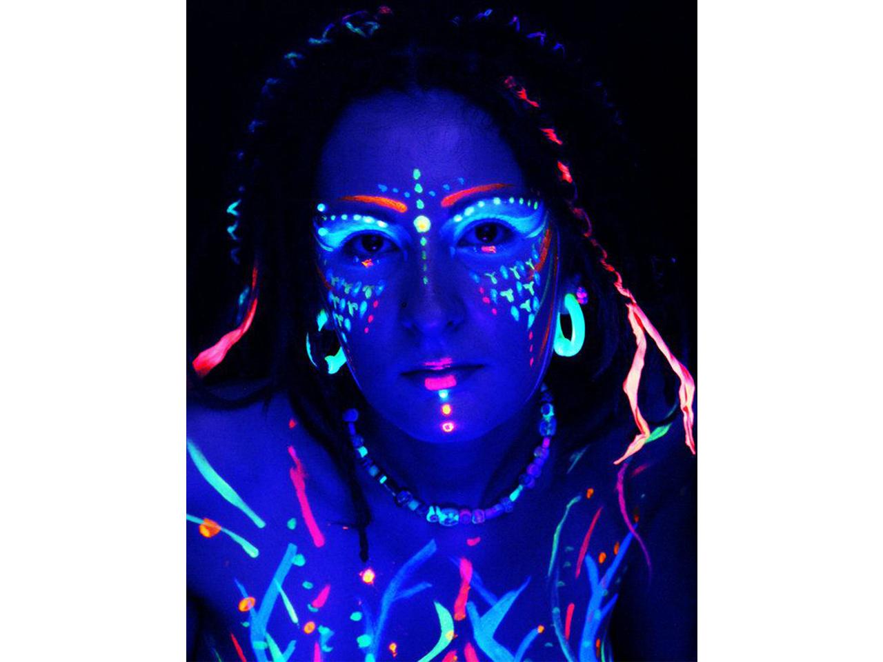 Stargazer Mini Neon UV Face and Body Paint