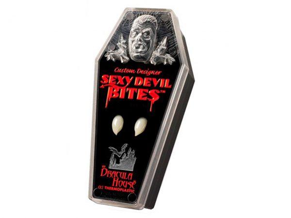 Custom Designer Sexy Devil Bites Dracula House Fangs