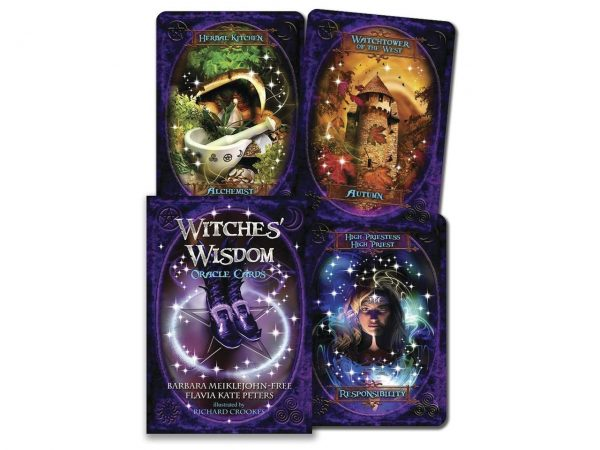 Nemesis Now Witches' Wisdom Wiccan Witchcraft Gothic Dark Oracle Cards