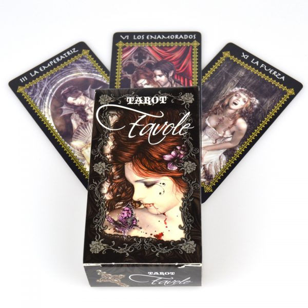 Nemesis Now Victoria Frances Favole Gothic Dark Tarot Cards