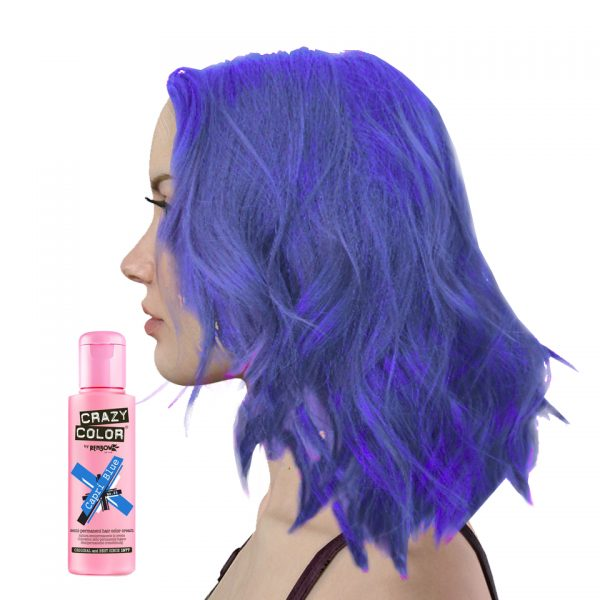 Crazy Colour Capri Blue Hair Dye