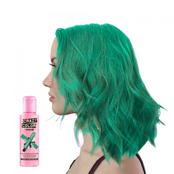 Crazy Colour Emerald Green Hair Dye