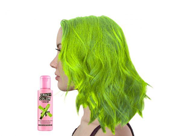 Crazy Colour Lime Twist Hair Dye