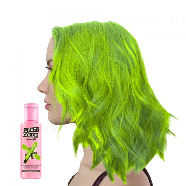 Crazy Colour Lime Twist Hair Dye