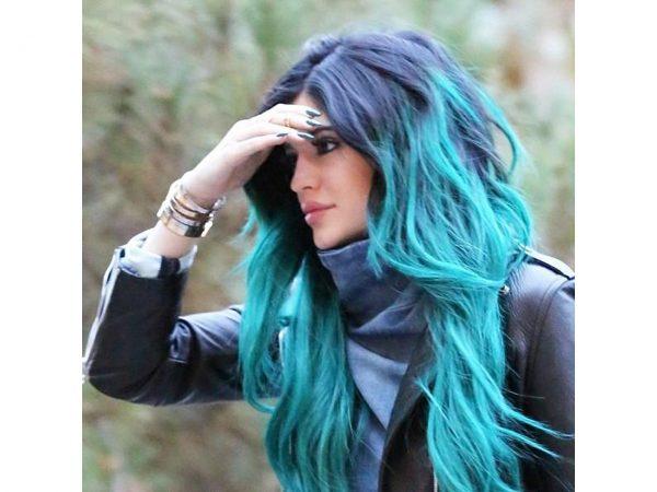 Crazy Colour Peacock Blue Hair Dye