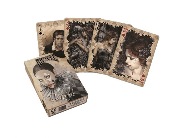Nemesis Now Victoria Frances Favole Gothic Dark Playing Cards