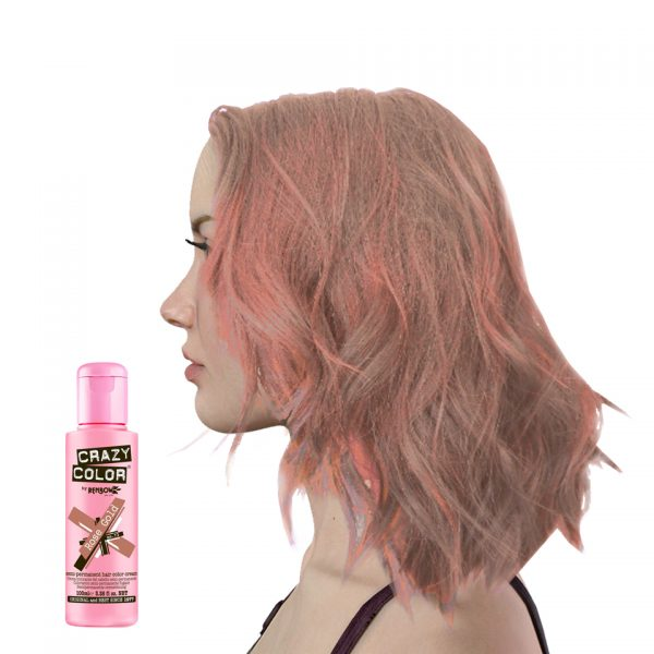 Crazy Colour Rose Gold Hair Dye