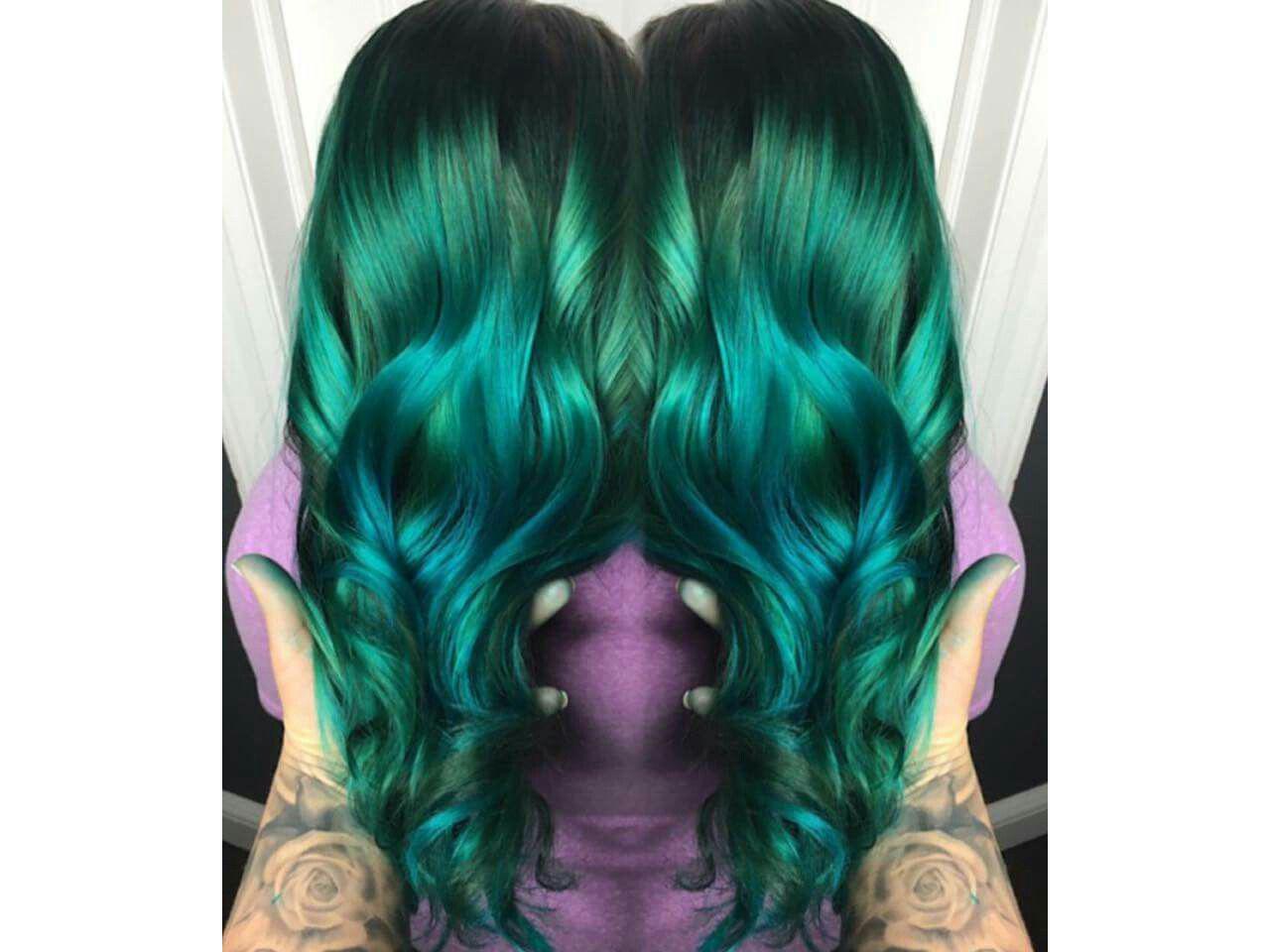 Crazy Colour Emerald Green Hair Dye