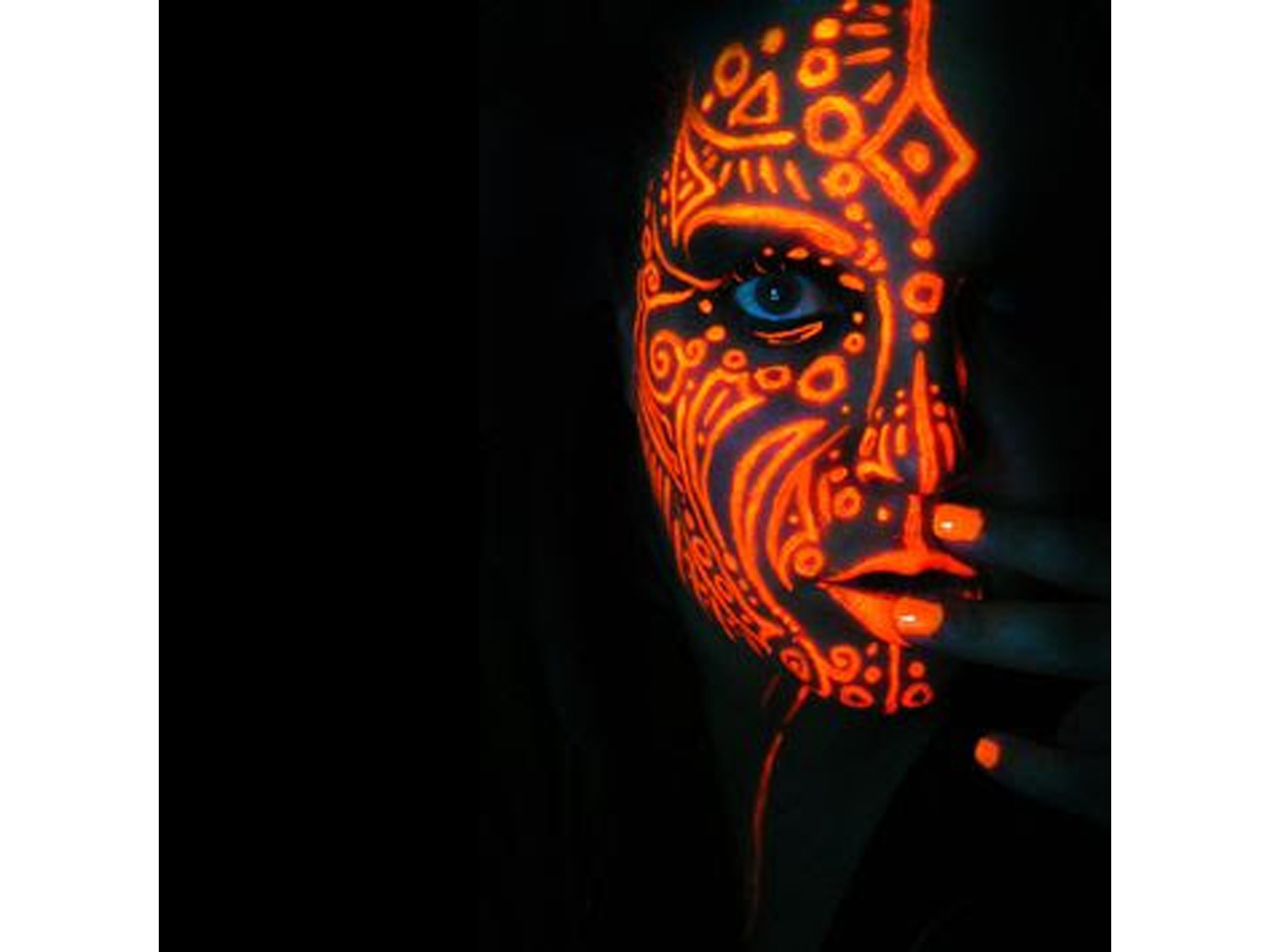 Stargazer Mini Night Glow in the Dark Face and Body Paint