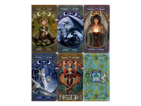 Nemesis Now Anne Stokes Legends Fantasy Tarot Cards