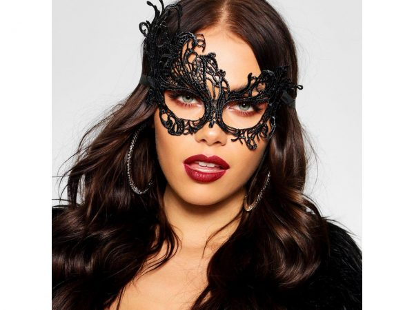 Venetian Lace Eye Mask Fancy Dress Halloween Costume