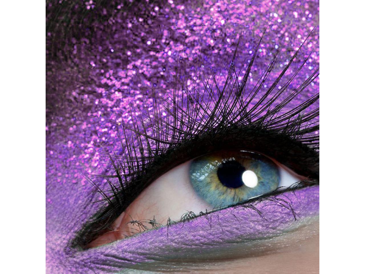 Stargazer Neon UV Glitter Purple