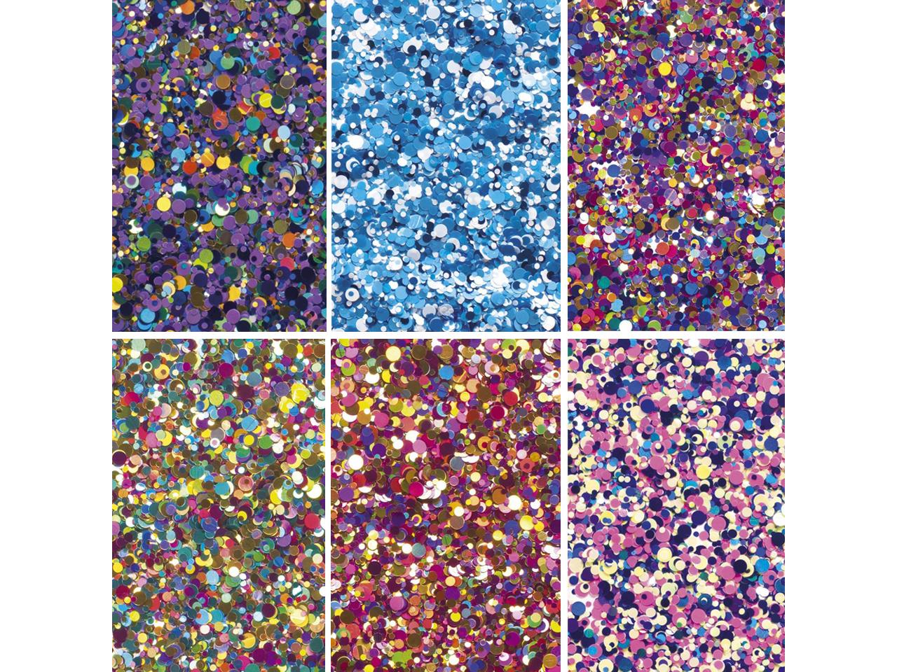 Stargazer Confetti Glitter Hair Gel