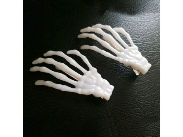 BHC Bone Hair Clip Skeleton Hand Poizen Industries