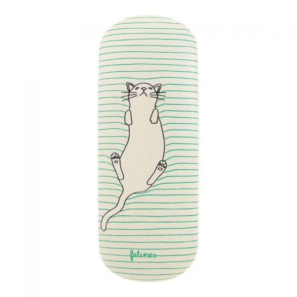 Santoro Felines Cat Glasses Case Feline Fine
