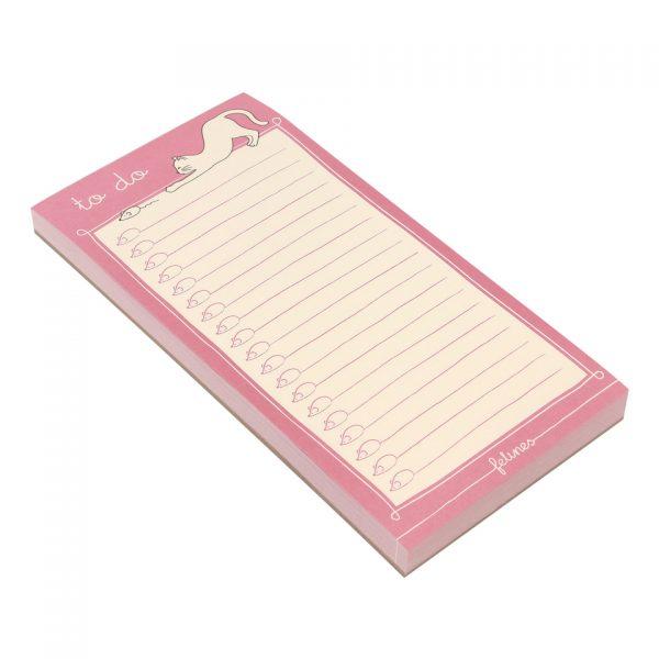 Santoro Felines Cat Magnetic List Pad I've Got Felines For You