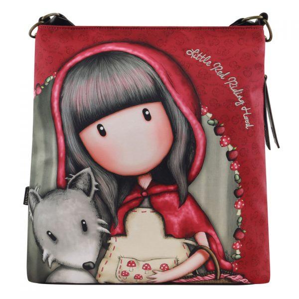 Santoro Gorjuss Large Hobo Bag Little Red Riding Hood