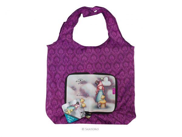 Santoro Gorjuss Folding Shopper Shopping Bag The Dreamer