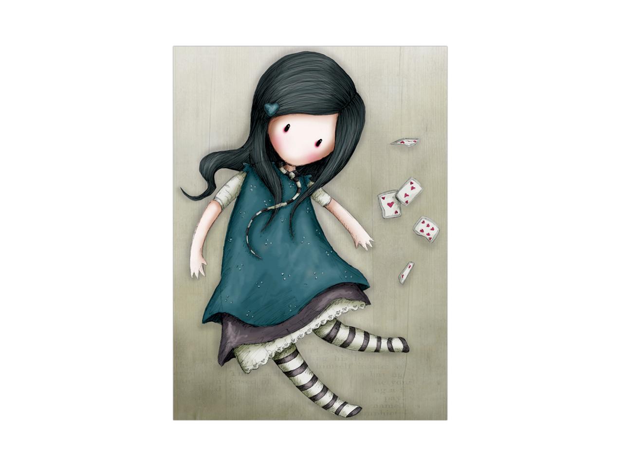 Santoro Gorjuss Gift Occasion Card Blank Alice