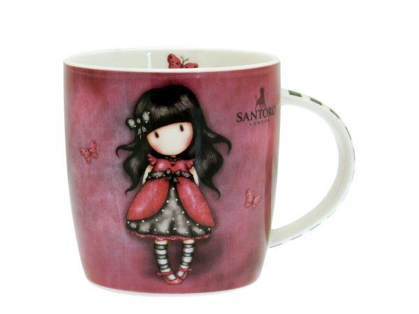 Santoro Gorjuss Mug Ladybird