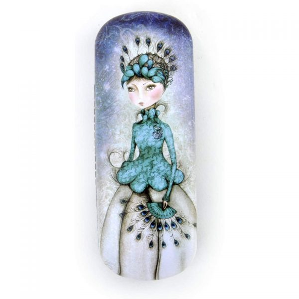 Santoro Mirabelle Glasses Case Miss Peacock