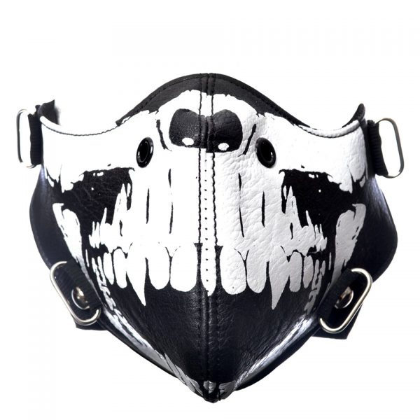 Tremor Skeleton Skull Jaw Face Mask Poizen Industries