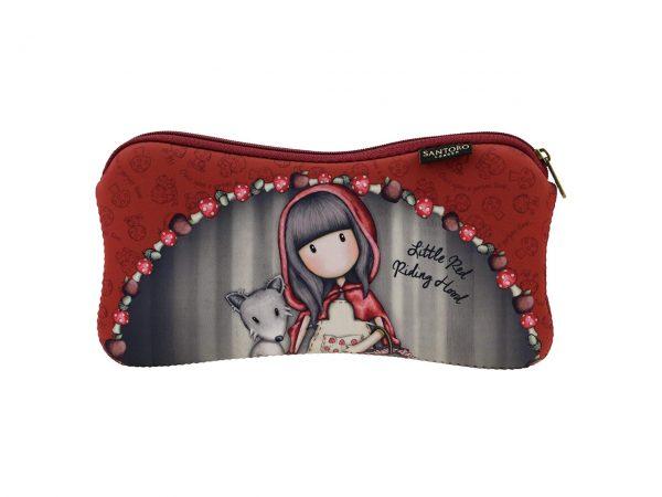 Santoro Gorjuss Neoprene Coated Accessory Case Little Red Riding Hood