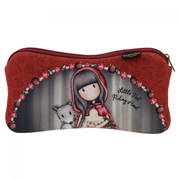 Santoro Gorjuss Neoprene Coated Accessory Case Little Red Riding Hood