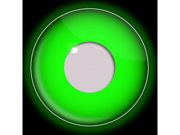 Funky Vision Eye Fusion Eye Accessories i-Glow Green UV 90 Days