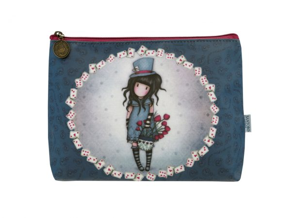 Santoro Gorjuss Large Coated Accessory Case The Hatter