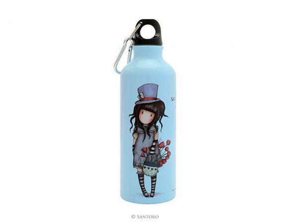Santoro Gorjuss Metal Water Bottle 500 ml The Hatter