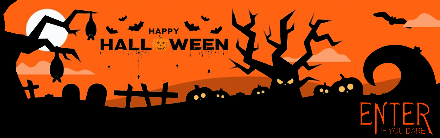 Halloween Enter If You Dare Banner