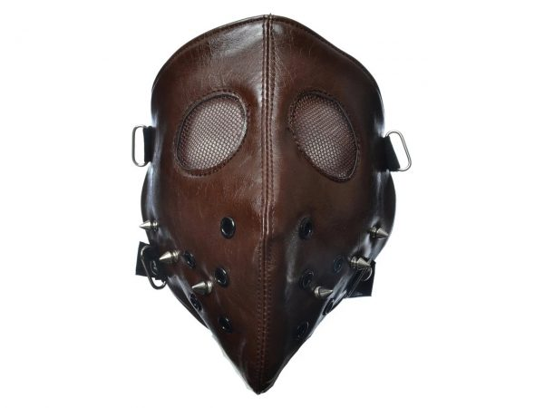 Hannibal Full Face Mask Silence of the Lambs Poizen Industries Studded