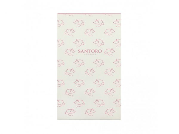 Santoro Felines Matchbook A7 Notebook Cat Asking Fur Trouble