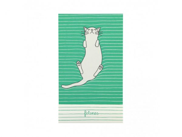 Santoro Felines Matchbook A7 Notebook Cat Feline Fine