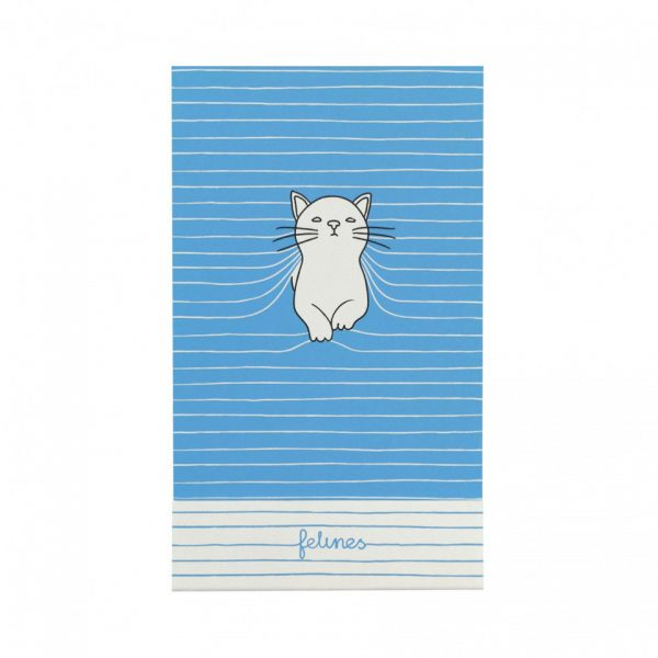 Santoro Felines Matchbook A7 Notebook Cat Purrrfect Place