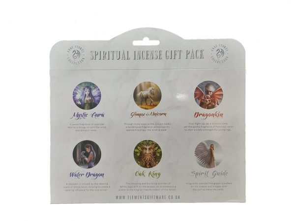 Spiritual Incense Stick Gift Pack Anne Stokes Fairy Dragon Angel Unicorn