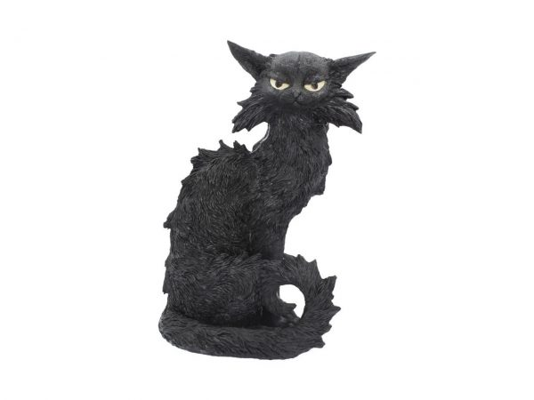 Salem Witches' Companion Black Cat Ornament Figure Nemesis Now
