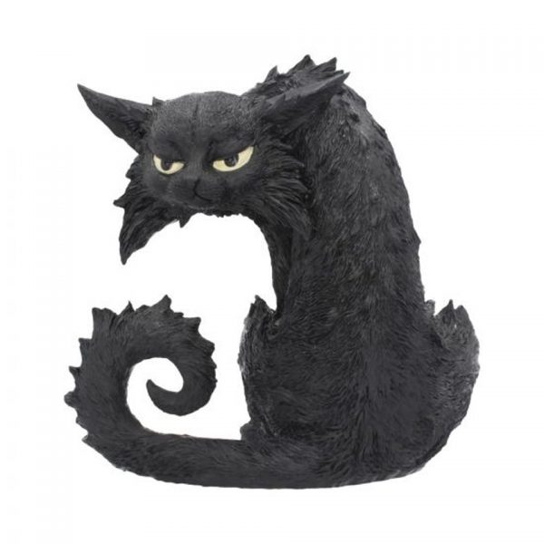 Spite Witches' Companion Black Cat Ornament Figure Nemesis Now
