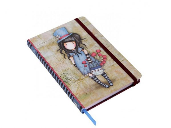 Santoro Gorjuss Hardcover Notebook The Hatter