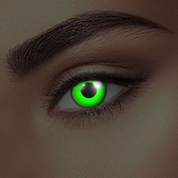Funky Vision Eye Fusion Eye Accessories i-Glow Green UV 90 Days