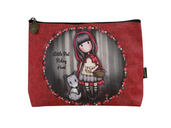 Santoro Gorjuss Large Coated Accessory Case Little Red Riding Hood