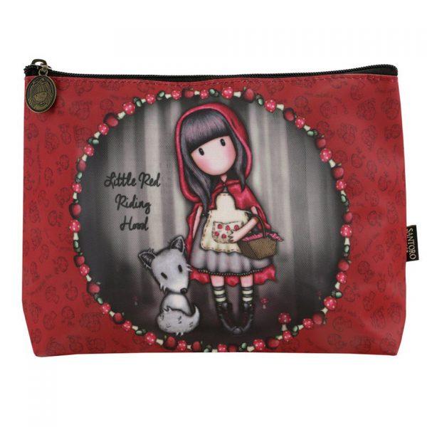 Santoro Gorjuss Large Coated Accessory Case Little Red Riding Hood