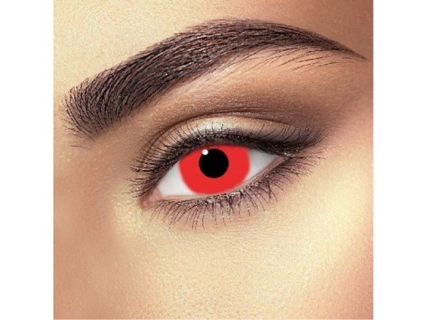 Funky Vision Eye Fusion Eye Accessories Mini Sclera Red 90 Days