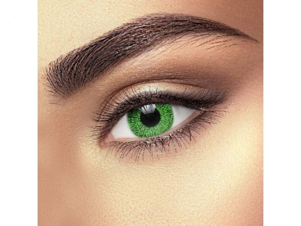 Funky Vision Eye Fusion Eye Accessories Green 1 Tone Colour 90 Days