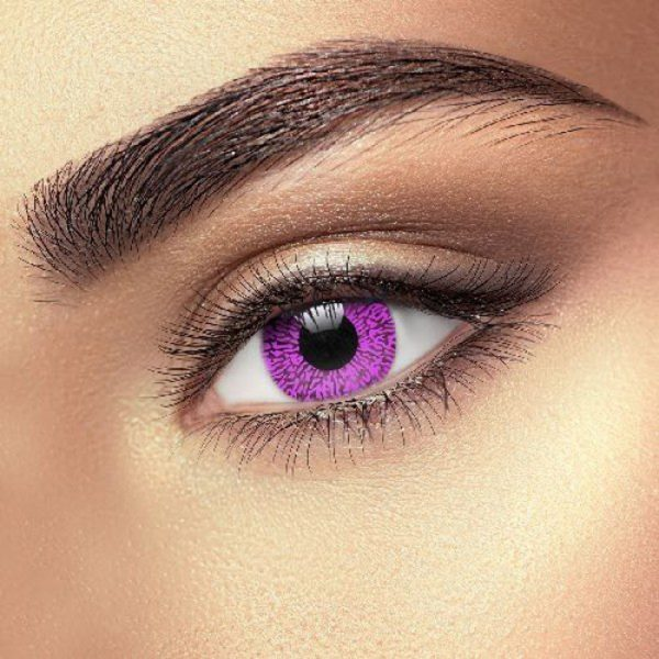 Funky Vision Eye Fusion Eye Accessories Violet 1 Tone Colour 90 Days