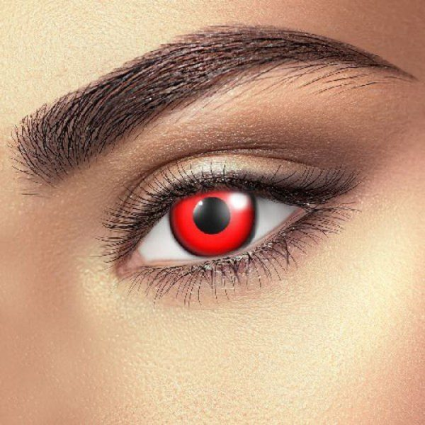 Funky Vision Eye Fusion Eye Accessories Bloody Red Daily