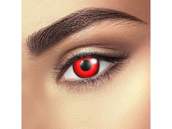Funky Vision Eye Fusion Eye Accessories Block Red 90 Days