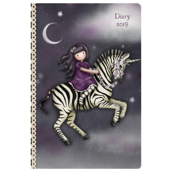 Santoro Gorjuss Pocket Diary 2019 The Dark Streak