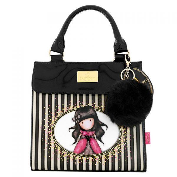 Santoro Gorjuss Classic Stripe Shoulder Bag Ladybird